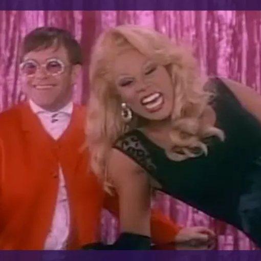 Elton John / RuPaul - Don't Go Breaking My Heart