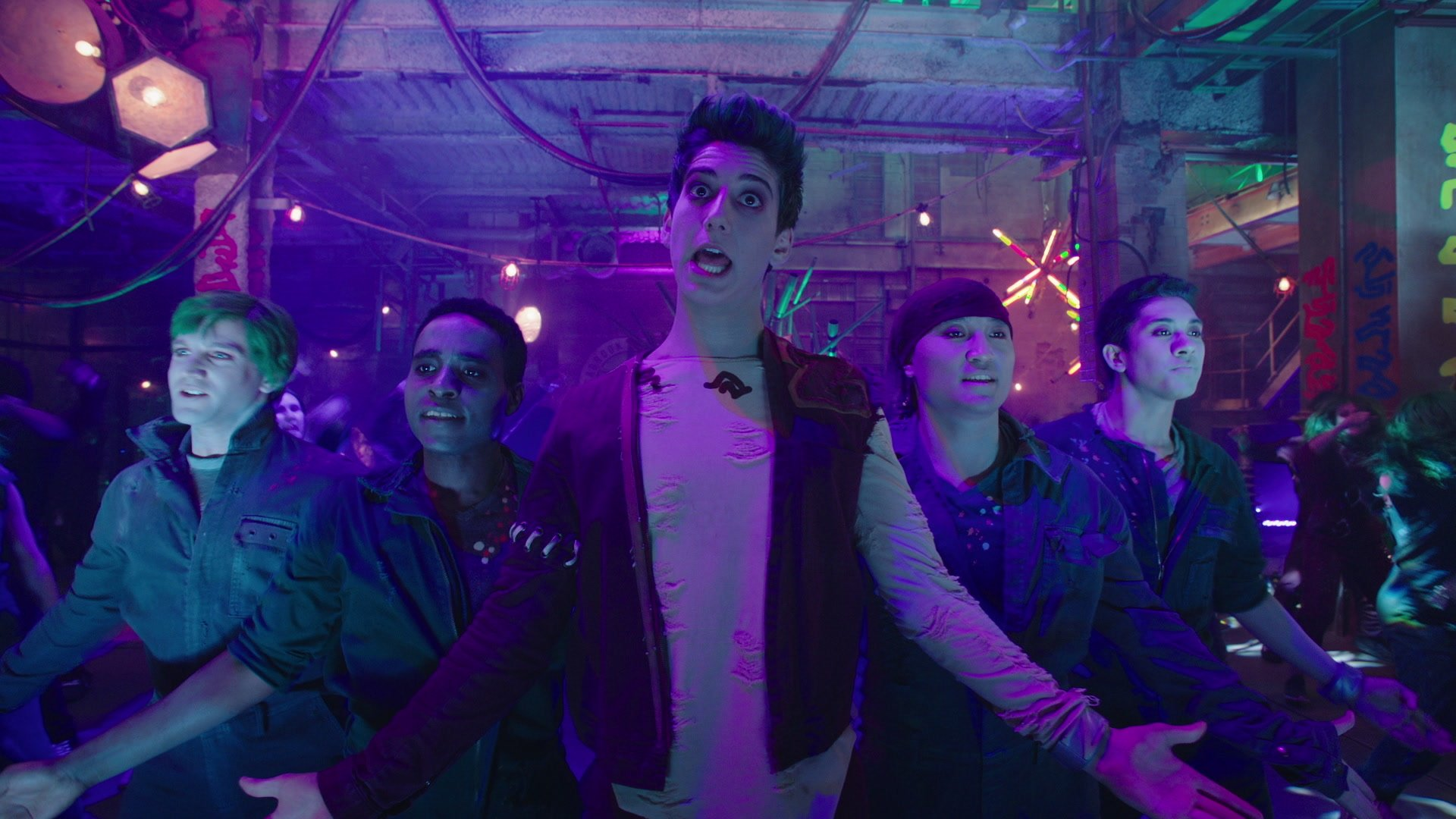 Milo Manheim Meg Donnelly Kylee Russell Bamm From Zombies