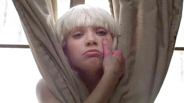 Sia Hides in Plain Sight in \'Chandelier\' Video « Radio.com | Music ...