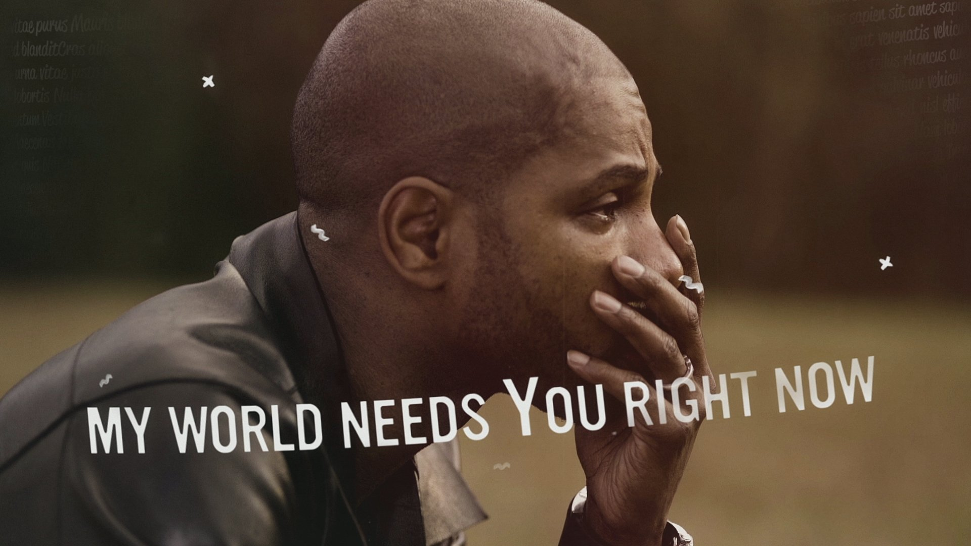 My World Needs You Official Lyric Video Feat Tamela Mann Tasha
