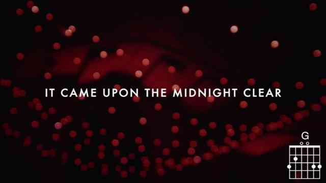 Chris Tomlin Midnight Clear Love Song Livelyrics And Chords