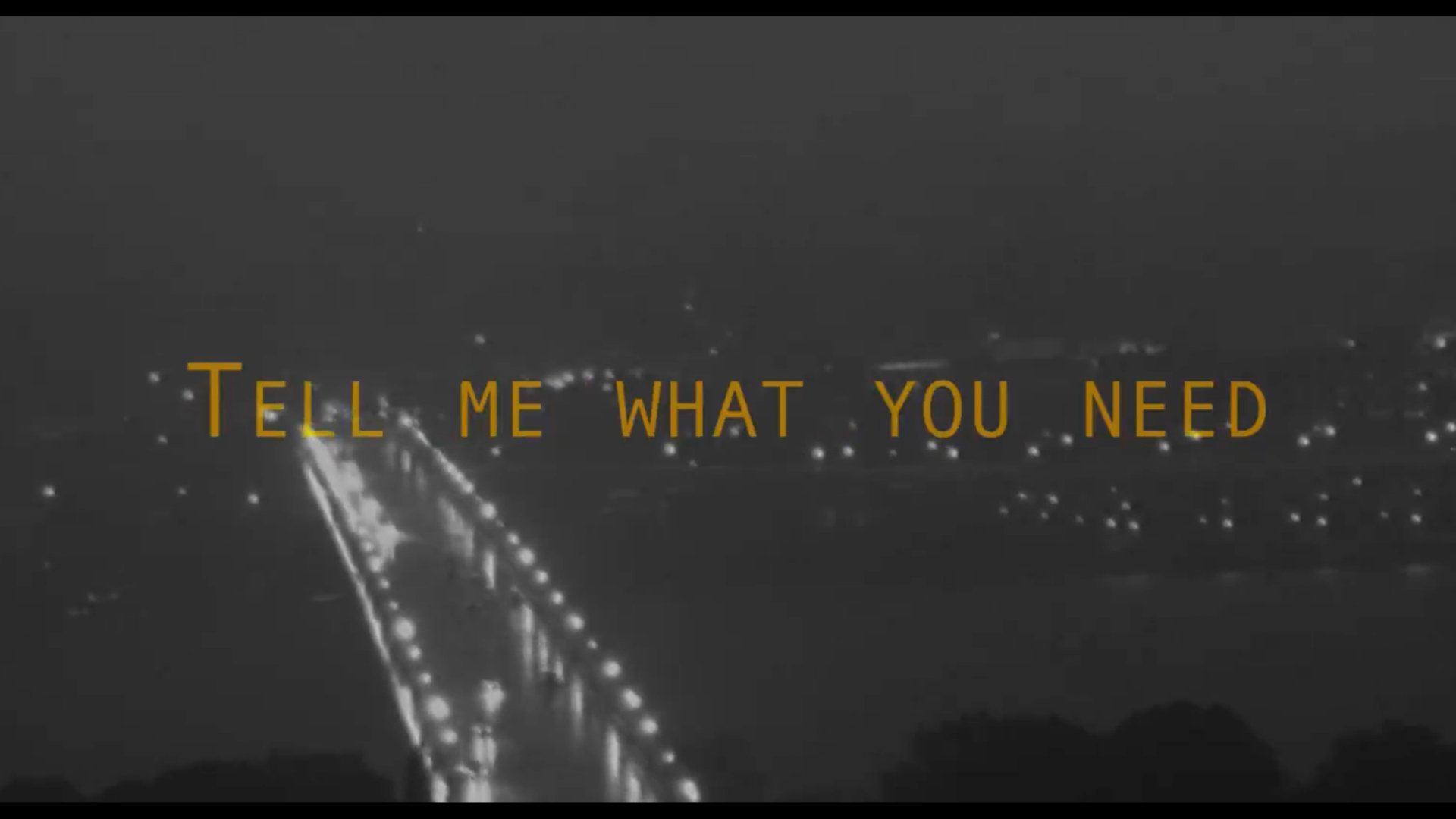 Alex Clare Tell Me What You Need Lyric Video